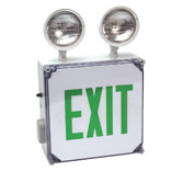 Damp Location Exit Signs