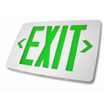 Green Letter Exit Signs