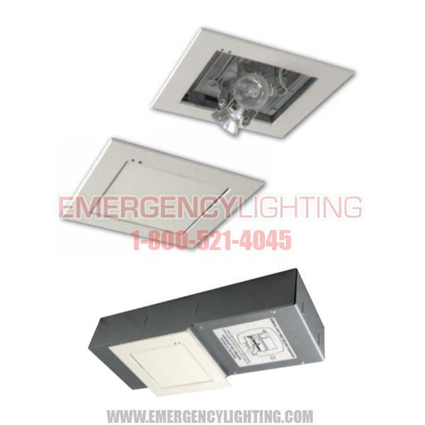 Clm Mini Concealed Recessed Emergency Luminaire