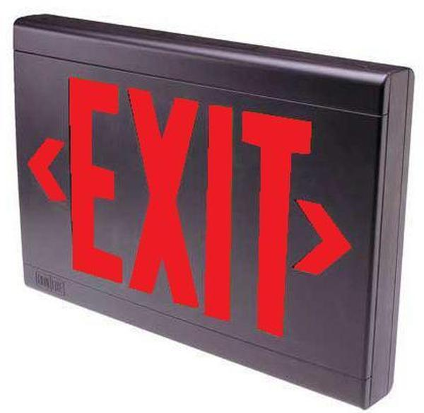 Dual Lite Lxurb 24k Exit Sign Emergency Lighting