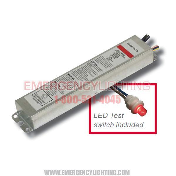 BAL500LPACTD Low Profile Emergency Ballast