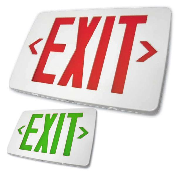 EZTXTEU Thin Exit Sign