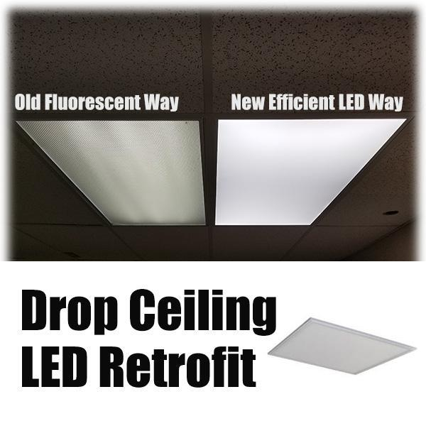 2x2-40W Flat LED Panel Light
