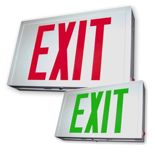 SXTEU Steel LED Exit Sign