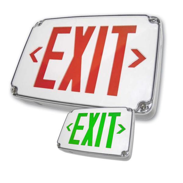WLEZXTEU Wet Location LED Exit Sign