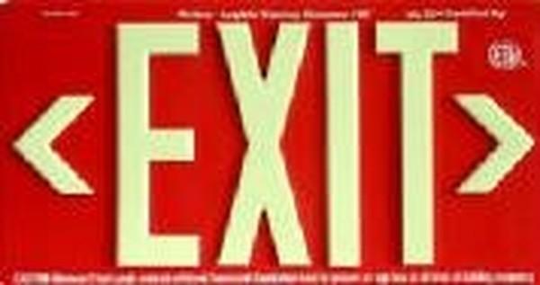 Sp100 R Or Sp100 R Emergency Lighting Exit Glo Egs