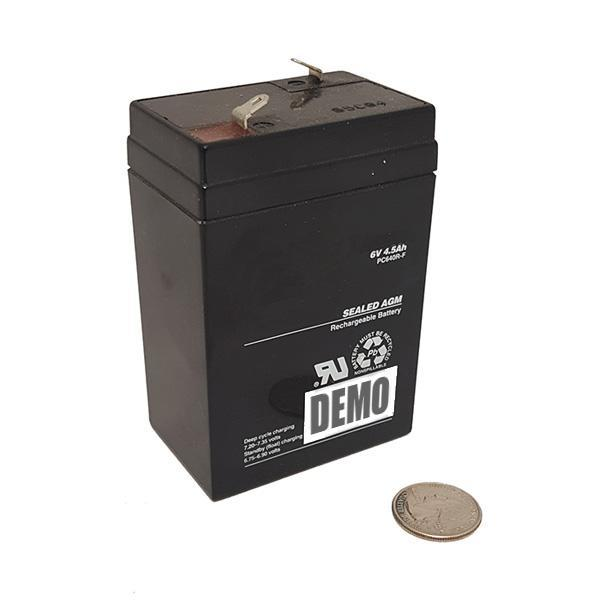 6 volt 4 5 ah rechargeable battery sla emergency lighting various brand. Black Bedroom Furniture Sets. Home Design Ideas