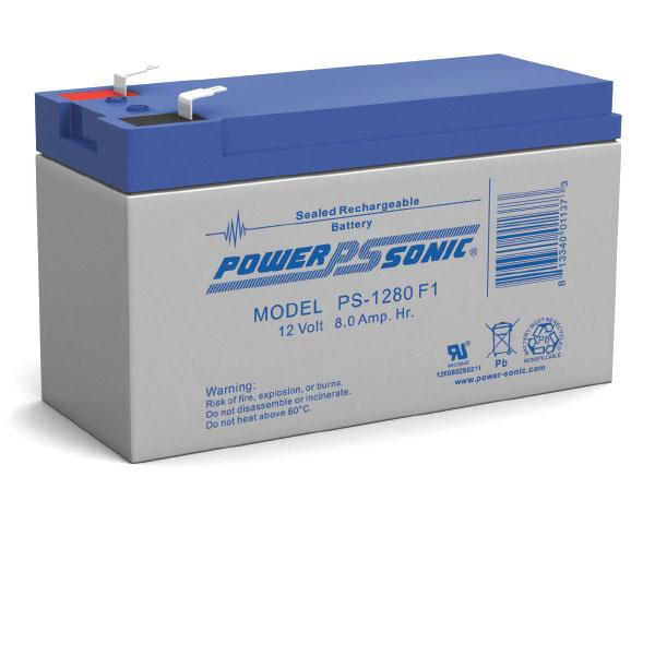 PS-1280 Power-Sonic Battery