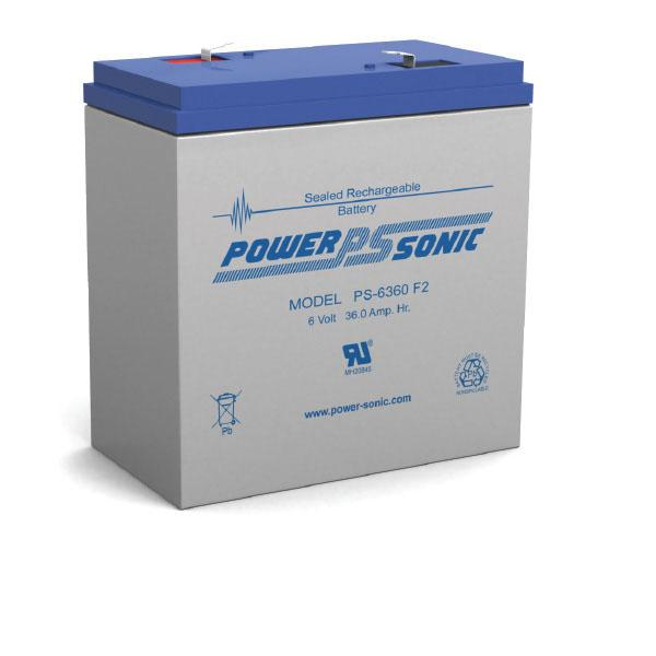 PS-6360 Power-Sonic Battery