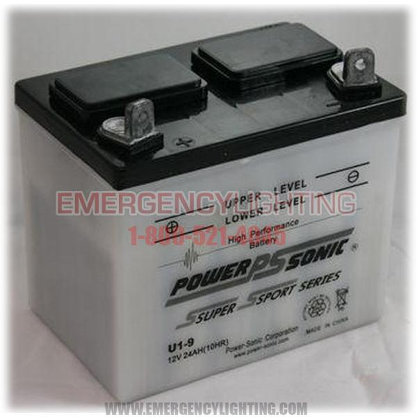 U1(9) Power-Sonic Lawn & Garden Battery