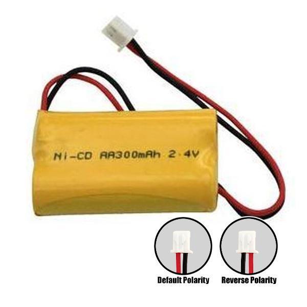 Ni Cd Aa300mah 2 4v Nicad Battery Emergency Lighting