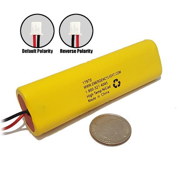 Ni Cd Aa600mah 4 8v Nicad Battery Emergency Lighting