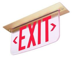Image of Red LED UL Listed exit sign