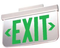 Surface Mounting AC Edge-Lit LED Exit Sign