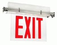 New York City Recessed Edge-Lit Exit Signs