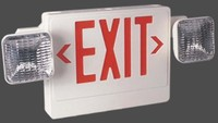 Thermoplastic Combination Emergency LED Exits
