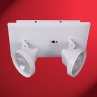 RLM Series, 6V 10.8Watt, Recessed Emergency Light, Attractive Flame-Resistant Metal Housing