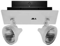 RLM Series, 6V 15Watt, Sealed Nickel Cadmium, Recessed Emergency Light, Attractive Flame-Resistant Metal Housing