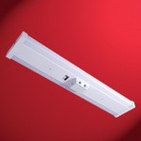 STL Starlite System, Surface Mounted, Two Lamp Fluorescent Lighting Fixture