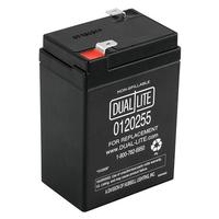 DUAL-LITE REPLACEMENT RECHARGEABLE SEALED LEAD ACID BATTERY