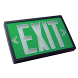 Self-Luminous Exit Signs